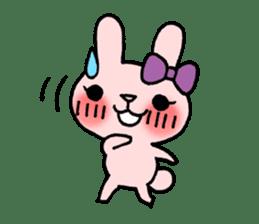 Pinky Rabbit Raby sticker #633246