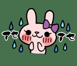 Pinky Rabbit Raby sticker #633247