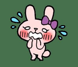 Pinky Rabbit Raby sticker #633248