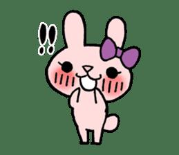 Pinky Rabbit Raby sticker #633250