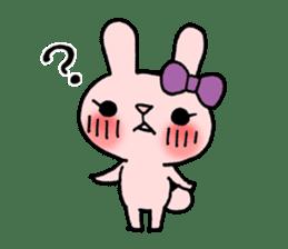 Pinky Rabbit Raby sticker #633251