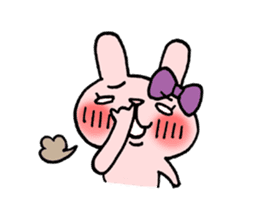 Pinky Rabbit Raby sticker #633253
