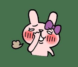 Pinky Rabbit Raby sticker #633253