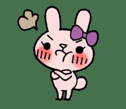 Pinky Rabbit Raby sticker #633255