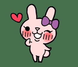 Pinky Rabbit Raby sticker #633258