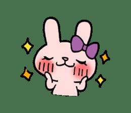 Pinky Rabbit Raby sticker #633259
