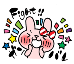 Pinky Rabbit Raby sticker #633260