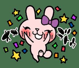 Pinky Rabbit Raby sticker #633261