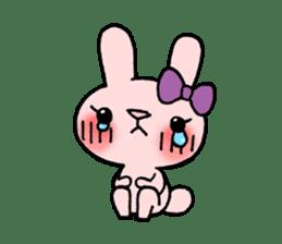Pinky Rabbit Raby sticker #633262