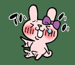 Pinky Rabbit Raby sticker #633265