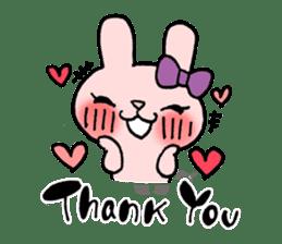 Pinky Rabbit Raby sticker #633266