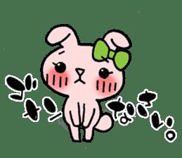 Pinky Rabbit Raby sticker #633267