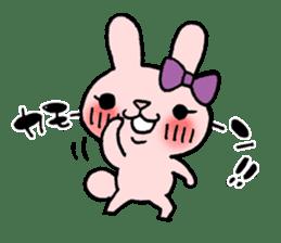 Pinky Rabbit Raby sticker #633269