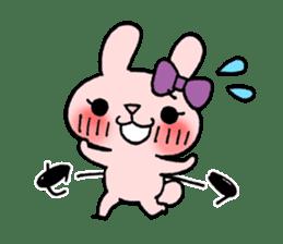 Pinky Rabbit Raby sticker #633270