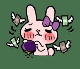 Pinky Rabbit Raby sticker #633273