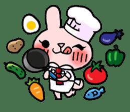 Pinky Rabbit Raby sticker #633277