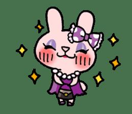 Pinky Rabbit Raby sticker #633281