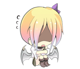 cute devil sticker sticker #633283