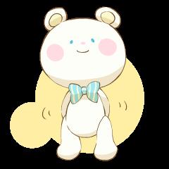 Lovely white bear