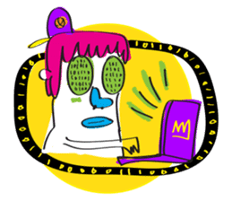 Le Petit Mutant sticker #633775