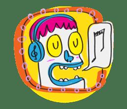 Le Petit Mutant sticker #633789