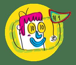Le Petit Mutant sticker #633790