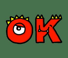 ABC MONSTERS sticker #633961