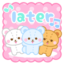 Three Bears-English- sticker #634001