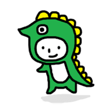 Kaburimono Friends sticker #634186