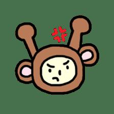 Kaburimono Friends sticker #634198