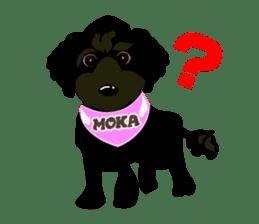 KOH's every day & My friend MOKA The 1st sticker #637066