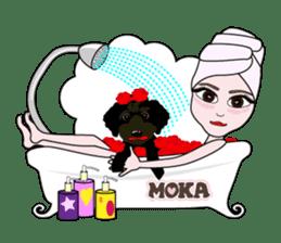 KOH's every day & My friend MOKA The 1st sticker #637075