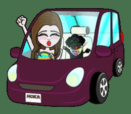 KOH's every day & My friend MOKA The 1st sticker #637079