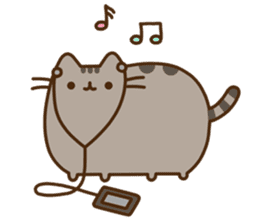 Pusheen the Cat sticker #637257