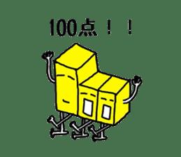 Feeling of weakness Taro. sticker #637972