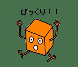 Feeling of weakness Taro. sticker #637977