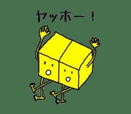 Feeling of weakness Taro. sticker #637980