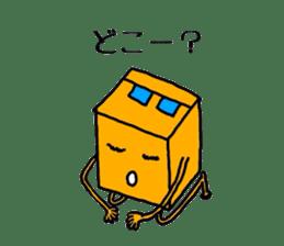Feeling of weakness Taro. sticker #637987
