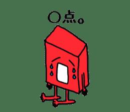 Feeling of weakness Taro. sticker #638000