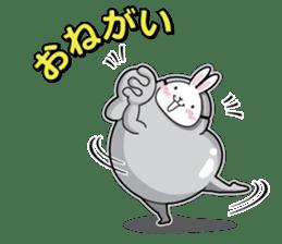 Jelly beans Rabbit mask.2 sticker #638644