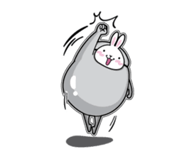 Jelly beans Rabbit mask.2 sticker #638645