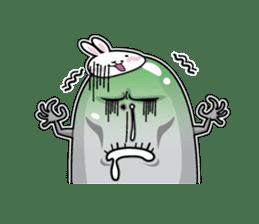 Jelly beans Rabbit mask.2 sticker #638657