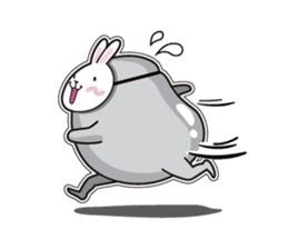 Jelly beans Rabbit mask.2 sticker #638661