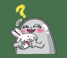 Jelly beans Rabbit mask.2 sticker #638662