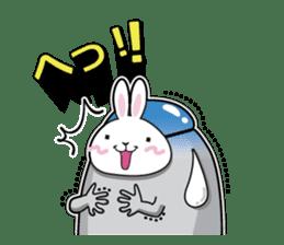 Jelly beans Rabbit mask.2 sticker #638668