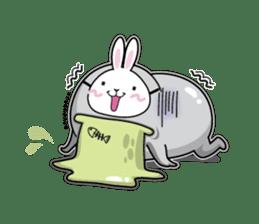 Jelly beans Rabbit mask.2 sticker #638678