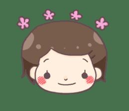 honobonochan sticker #639223
