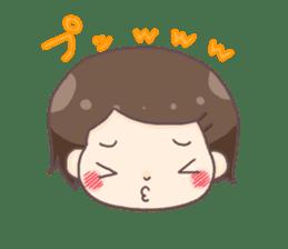 honobonochan sticker #639238