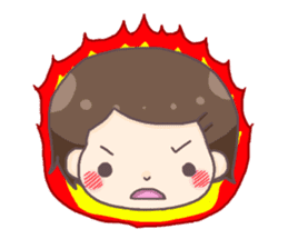 honobonochan sticker #639241