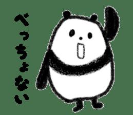 Beans Panda sticker #639644